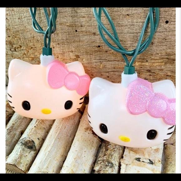 Novelty Hello Kitty String Lights Nwt